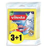 VILEDA Sponge cloth 4x3 pcs - Cloth