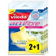 VILEDA Actifibre Window Microhard 3x1 pcs - Cloth