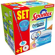 SPONTEX Full Action System Plus (+ abrasive replacement free of charge) - Mop