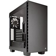 Corsair 400C Carbide Series Clear black - transparent side panel - PC Case