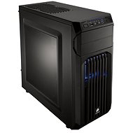 Corsair SPEC-01 Blue LED Carbide Series black with transparent side panel - PC Case