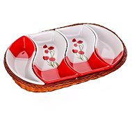 BANQUET RED POPPY 30,5cm A00832 - Bowl Set