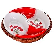 BANQUET RED POPPY 20,5cm A00833 - Bowl Set