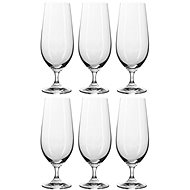 BANQUET Leona Crysta beer 370 A11306 - Glass Set