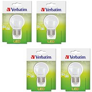Verbatim LED 3.1W E27 2700K set 4pcs - LED bulb