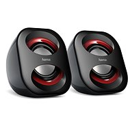Hama Sonic Mobil 183 black and red - Speakers