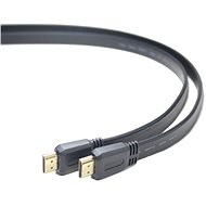 PremiumCord HDMI High Speed ??Interconnect 1m, flat - Video Cable