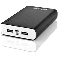 Gogen Power Bank 10000mAh White/Black - Power Bank