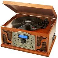 Ricatech RMC250 6 in 1 Paprika Wood + ADELE album on vinyl FREE - Turntable