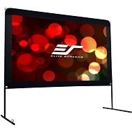 """ELITE SCREENS, Mobile Outdoor Tripod 180"""" (16:9) - Projection Screen"""