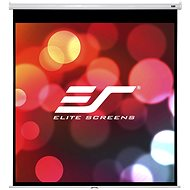 "ELITE SCREENS Manual pull-down screen 99"" (1:1) - Projection Screen"