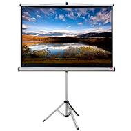 "NOBO Manual pull-down screen with tripod 79"" (16:10) - Projection Screen"