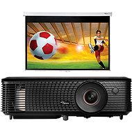 Optoma HD140X + screen DS-9092PWC - Projector