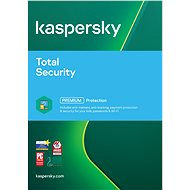 Kaspersky Total Security multi-device 2017 renewal for 4 devices for 12 months (electronic license) - Security Software