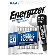 Energizer Ultimate Lithium AAA / 4 - Battery