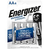 Energizer Ultimate Lithium AA/4 - Battery