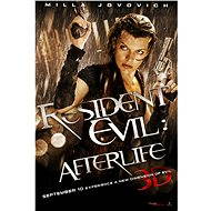3D Resident Evil: Afterlife, Czech dubbing - Blu-ray film