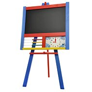 Drawing boards stand with counter and clock colour - Board