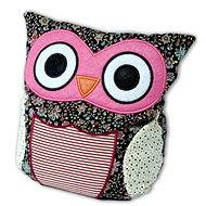 Hooty Owl patchwork pink - Plush Toy