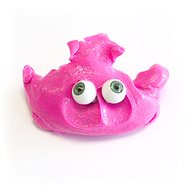 Intelligent play dough - pink play dough monster - Clay