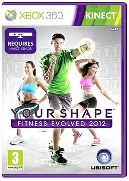 Xbox 360 - Your Shape: Fitness Evolved (Kinect ready)