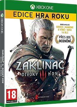 The Witcher 3: Wild Hunt - Game of the Year CZ - Xbox One Edition