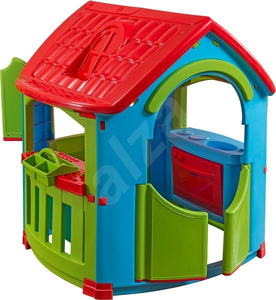 Playhouse with Kitchen and Workshop - Kids\' Playhouse | Alza.co.uk
